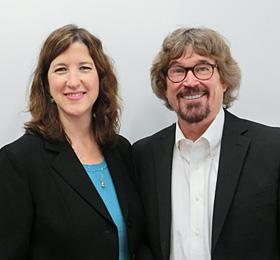 ティム・ハルボム&クリス夫妻 画像